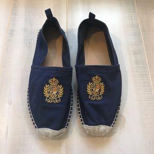 Polo Ralph Lauren Men's Barron Espadrille Shoes 12